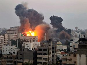 Israelis pound Gaza during recent fighting