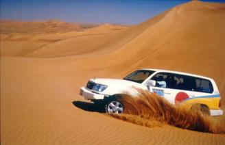 "Weekend ""Dune-bashing"" attracts thousads to the desert outside Jeddah, Saudi Arabia."