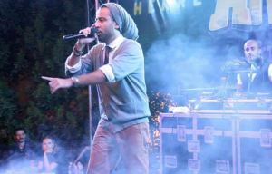 Arabs Got Talent TV host  and rapper artist  Qusai Kheder.