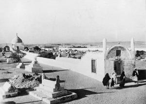 Eve's tomb c. 1908.