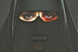 The King Khalid Foundation is now running ads in Saudi newspapers and on TV about spousal abuse.