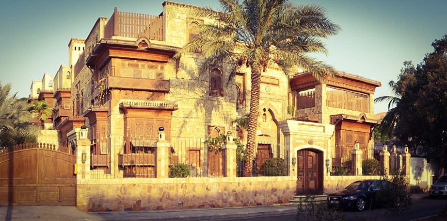 The Angawi mansion in Jeddah, Saudi Arabia, is a center for study and dialogue.