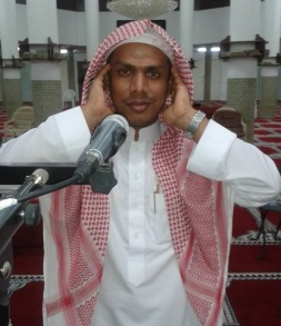 Sam's friend Muadhin Shafik Zubir calls the faithful to prayer five times a day at Tuqwa Mosque near the Red Sea Promenade in Jeddah, Saudi Arabia.