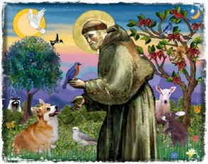St Francis, the Patron Saint of Animals.
