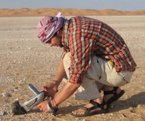Meteorite scientist