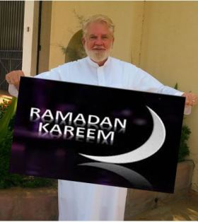 From Jeddah, Saudi Arabia, Sam wishes all a very happy Ramadan!