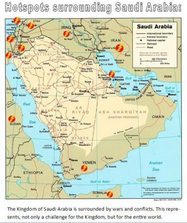 KSA Hotspots Map