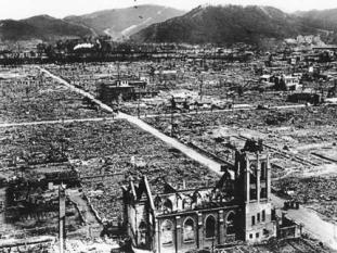 The atomic bombings of the cities of Hiroshima and Nagasaki in Japan were conducted by the United States during the final stages of World War II in August 1945. The two bombings were the first and remain the only use of nuclear weapons in warfare.