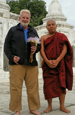 Sam Shropshire discussed Rohingya persecution with Myanmar Buddhist leaders.