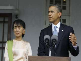 Obama called Myanmar to end discrimination against Rohingya people, urging in his strongest comments on the persecuted Muslim minority that the government grant them equal rights.