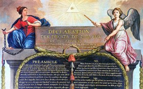 The Declaration of the Rights of Man and of the Citizen of 1789, is a major human rights document resulting from the French Revolution.