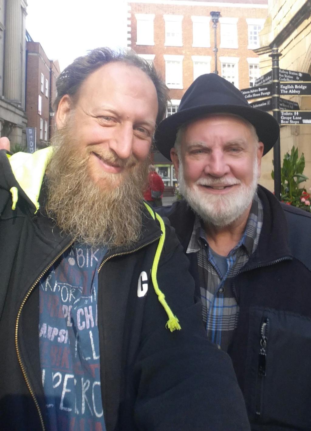 Sam met with Abdurraheem Green, an English